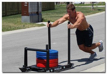 Hockey Sled Training